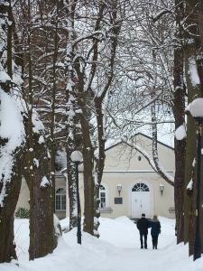 Aleja Chopina zimą