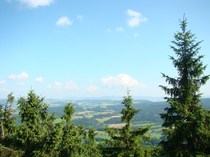 Liczne szlaki turystyczne w okolicach Dusznik Zdroju