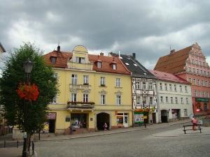 Kamieniczki w centrum miasta