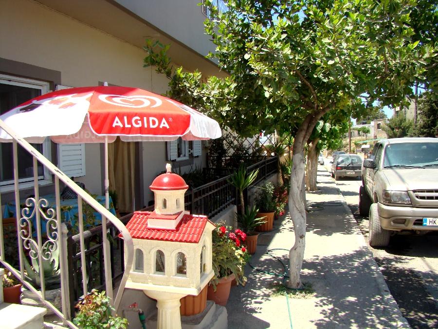 Ulica w Anogii