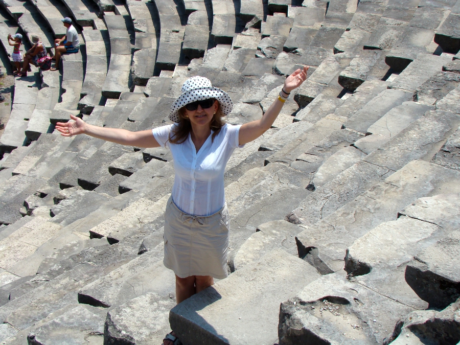 Zwiedzanie_amfiteatru