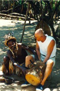Chwile relaksu z miejscowymi Zulusami, fot. archiwum prywatne