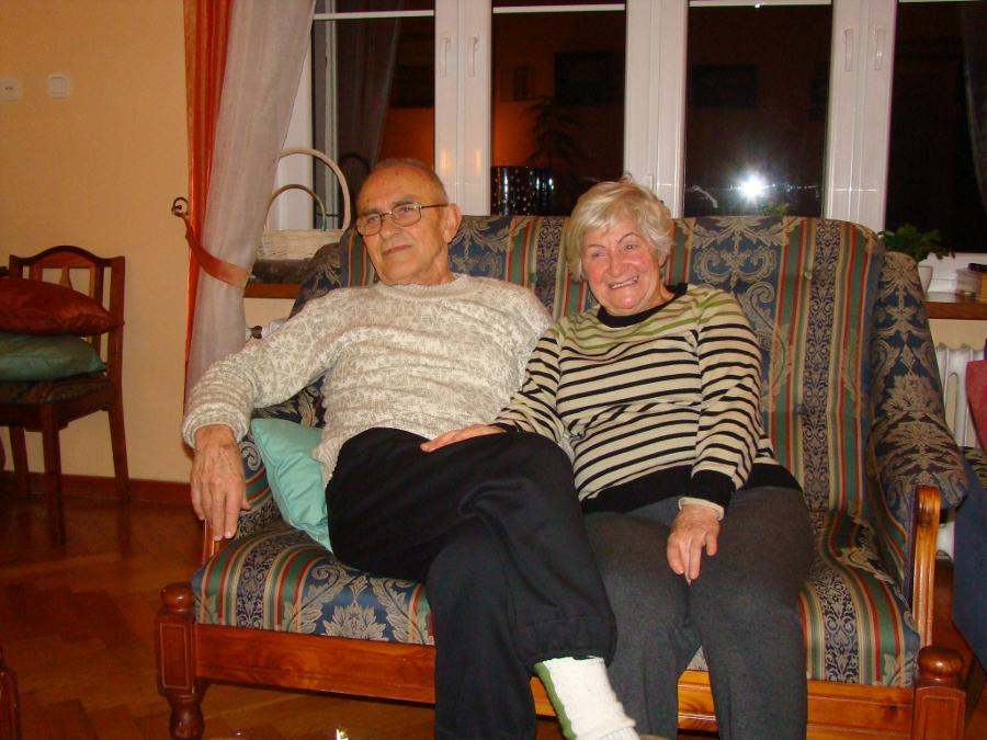 Państwo Franciszek i Elżbieta Kania razem od 52 lat, fot. Elżbieta Sandecka-Pultowicz