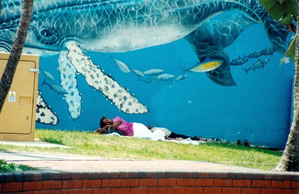 Scenka uliczna z Durbanu