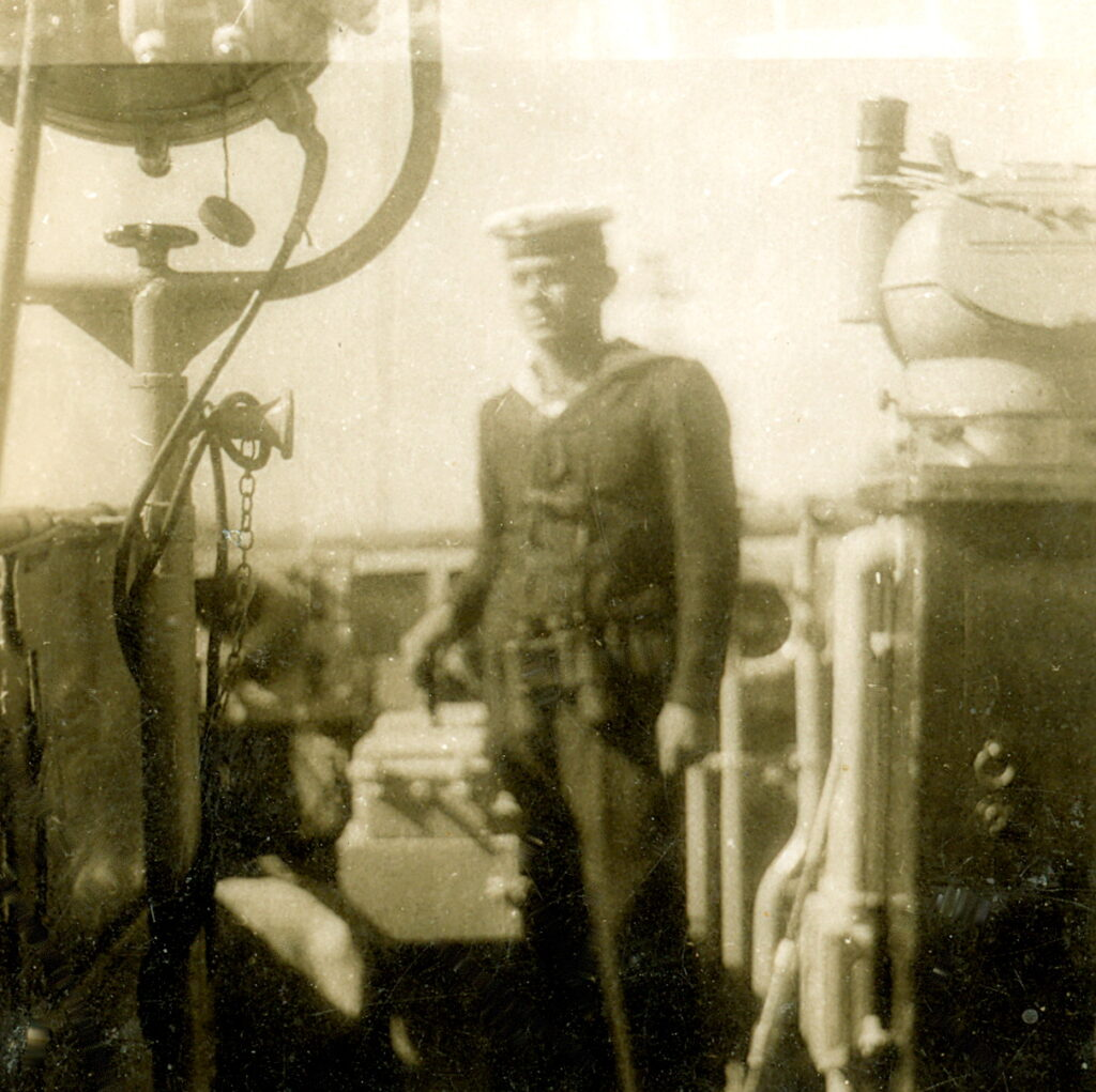 Służba w Marynarce Wojennej, fot. archiwum prywatne
