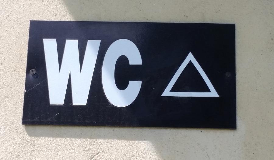 Symbole Wc Pułapki Dla Turystów Elżbieta Sandecka Pultowicz